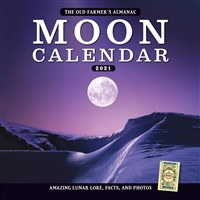The Old Farmer's Almanac 2021 Moon Calendar