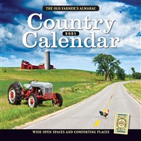 The Old Farmer's Almanac 2021 Country Calendar
