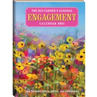 The Old Farmer's Almanac 2021 Engagement Calendar
