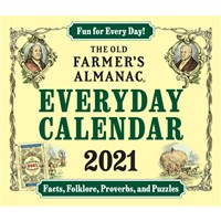 The Old Farmer's Almanac 2021 Everday Calendar
