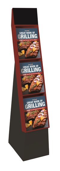 Char-Broil Great Book of Grilling 12-copy floor display