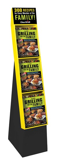 Char-Broil Grilling for the Family 12-copy floor display