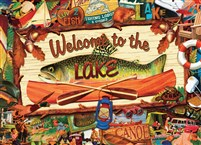 Welcome To the Lake 1000-Piece Puzzle