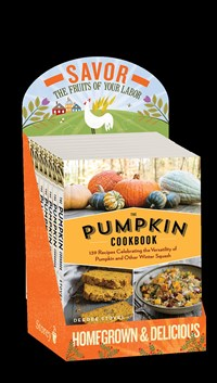 The Pumpkin Cookbook, 2nd Edition, 8-copy display