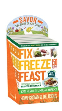 Fix, Freeze, Feast, 2nd Edition 6-copy counter display