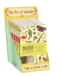Nature Anatomy Notebook 5-copy counter display