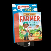 10-copy counter display I Want To Be a Farmer Activity Book