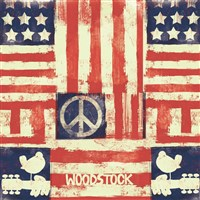 Woodstock Unlined Journal American Peace