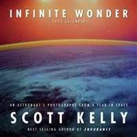 Infinite Wonder by Scott Kelly 2020 Mini Wall Calendar