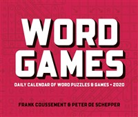 Word Games 2020 Box Calendar