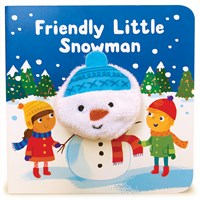 Friendly Little Snowman Finger Puppet Book