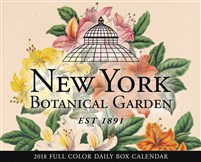 2018 New York Botanical Garden Box Calendar