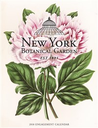 2018 New York Botanical Garden Engagement Calendar