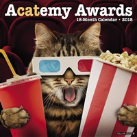 2018 Acatemy Awards Wall Calendar