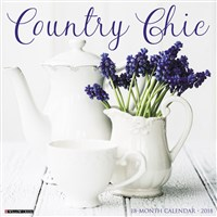 2018 Country Chic Wall Calendar