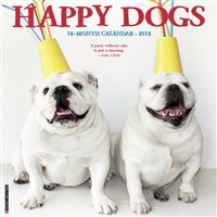 2018 Happy Dogs Wall Calendar