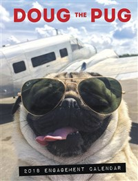 2018 Doug the Pug Engagement Calendar