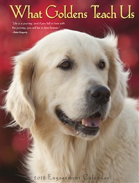 2018 What Goldens Teach Us Engagement Calendar
