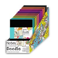 Colour and Doodle A5 Notebook
