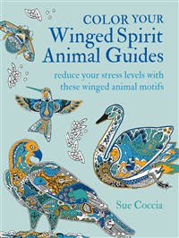 Color Your Winged Spirit Animal Guides