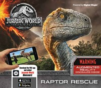 Jurassic World Fallen Kingdom: Raptor Rescue