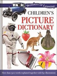 Children's Picture Dictionary – 48pp Padded Foil Omnibus