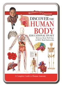 Discover the Human Body – Wonders of Learning Tin Set