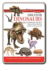 Discover Dinosaurs – Wonders of Learning Tin Set