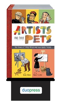 Artists and Their Pets 6-copy counter display