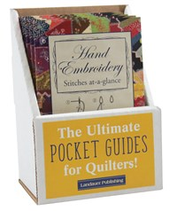 Hand Embroidery Stitches At-A-Glance Prepack