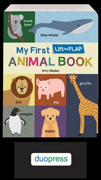 My First Lift-the-Flap Animal Book 6-Copy PPK