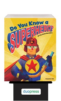 Do You Know a Superhero? 6-copy counter display