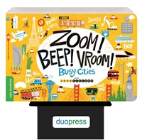 Zoom! Beep! Vroom! Busy Cities 6-copy counter display