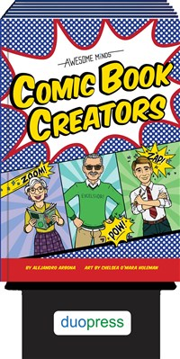 Awesome Minds: Comic Book Creators 6-copy counter display