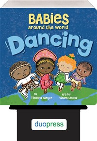 Babies Around the World: Dancing 6-copy counter display