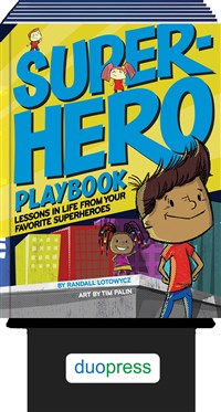 Superhero Playbook 6-copy counter display