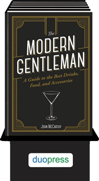 The Modern Gentleman 6-copy counter display