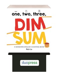 6-copy counter display One, Two, Three Dim Sum: A Mandarin-English Counting Book