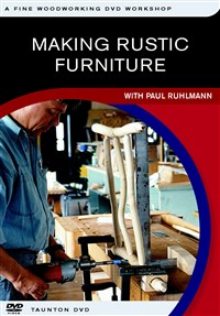 Making Rustic Furniture