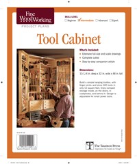 Fine Woodworking's Tool Cabinet Plan