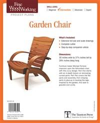 Fine Woodworking's Garden Chair Plan