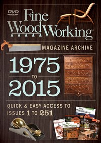 Fine Woodworking 2015 Magazine Archive