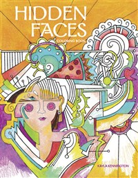 Hidden Faces Coloring Book