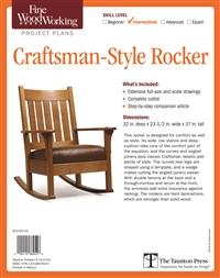 Fine Woodworking's Craftsman-Style Rocker