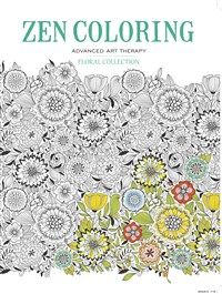 Zen Coloring - Floral Collection