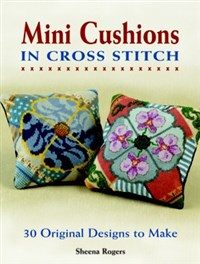 Mini Cushions in Cross Stitch