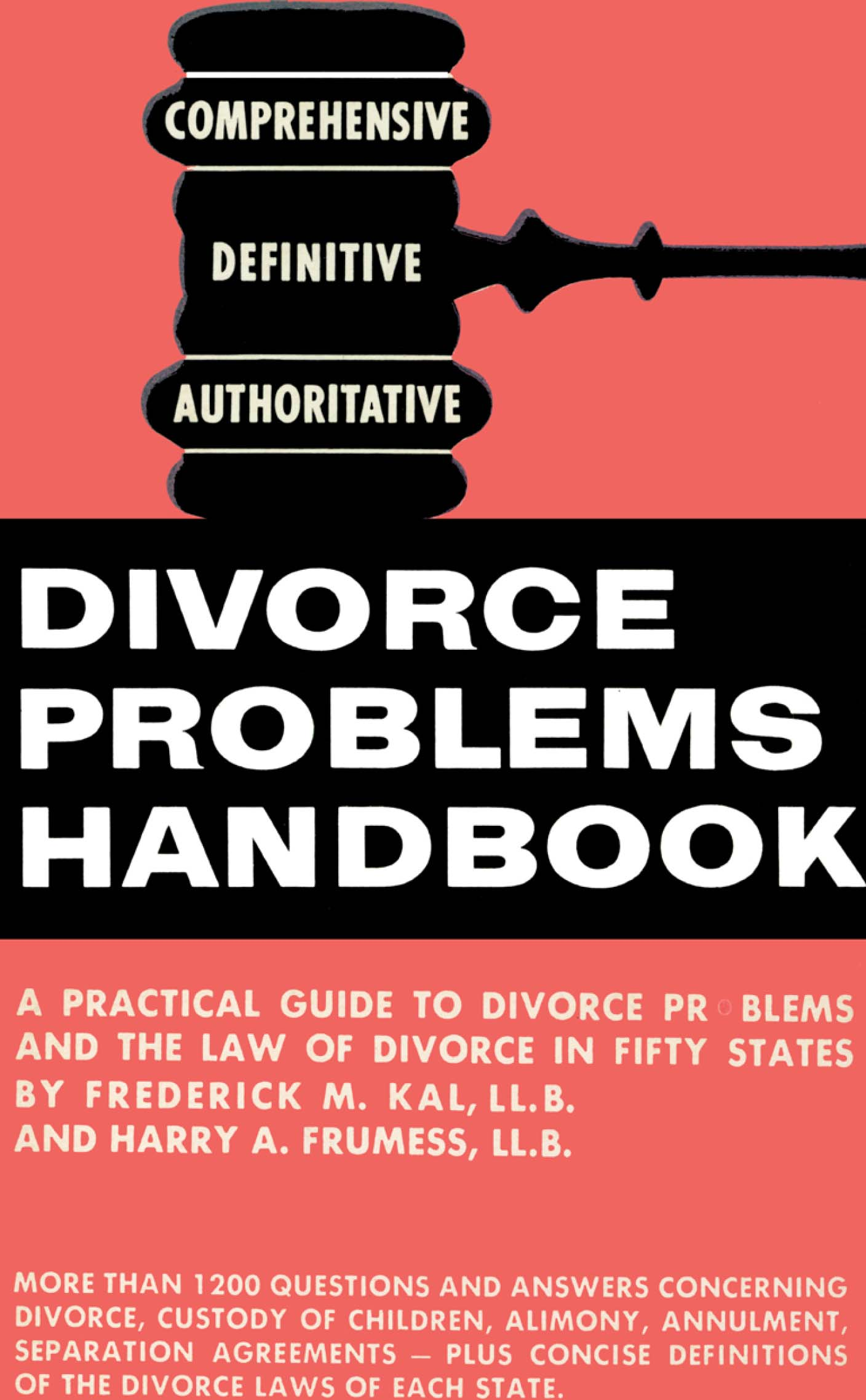 Divorce Problems Handbook