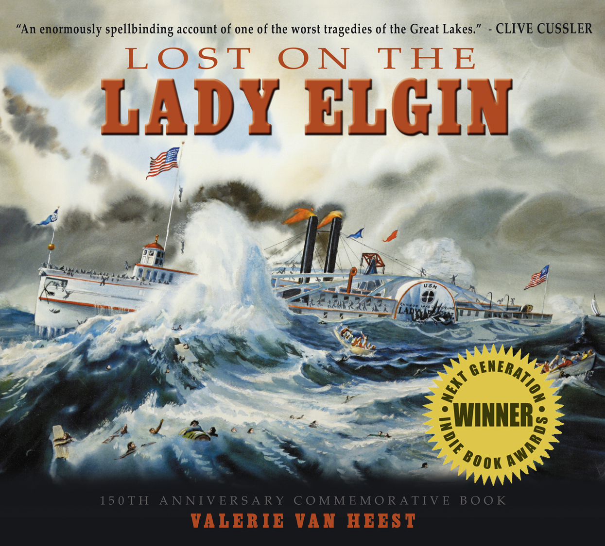 Lost on the Lady Elgin