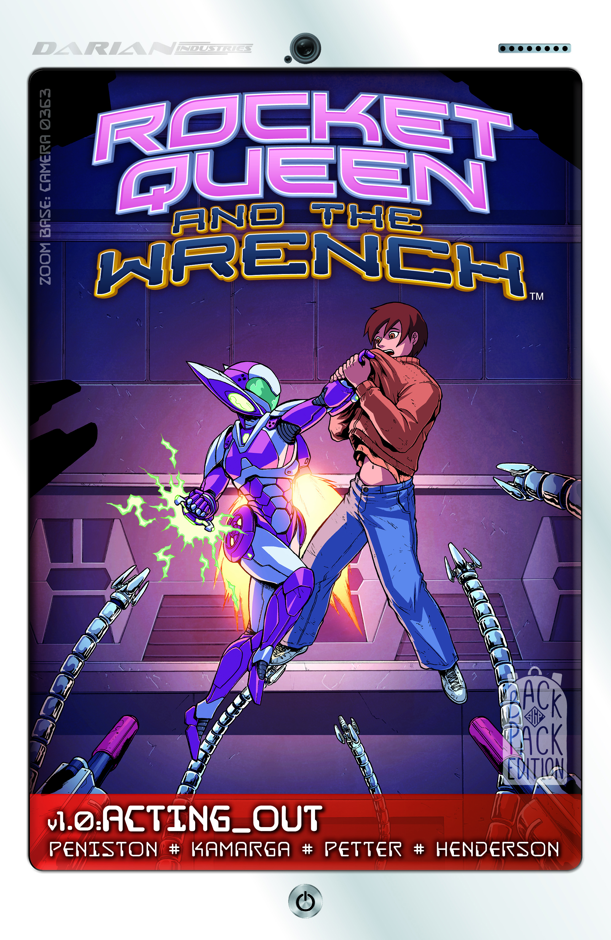 Rocket Queen and the Wrench