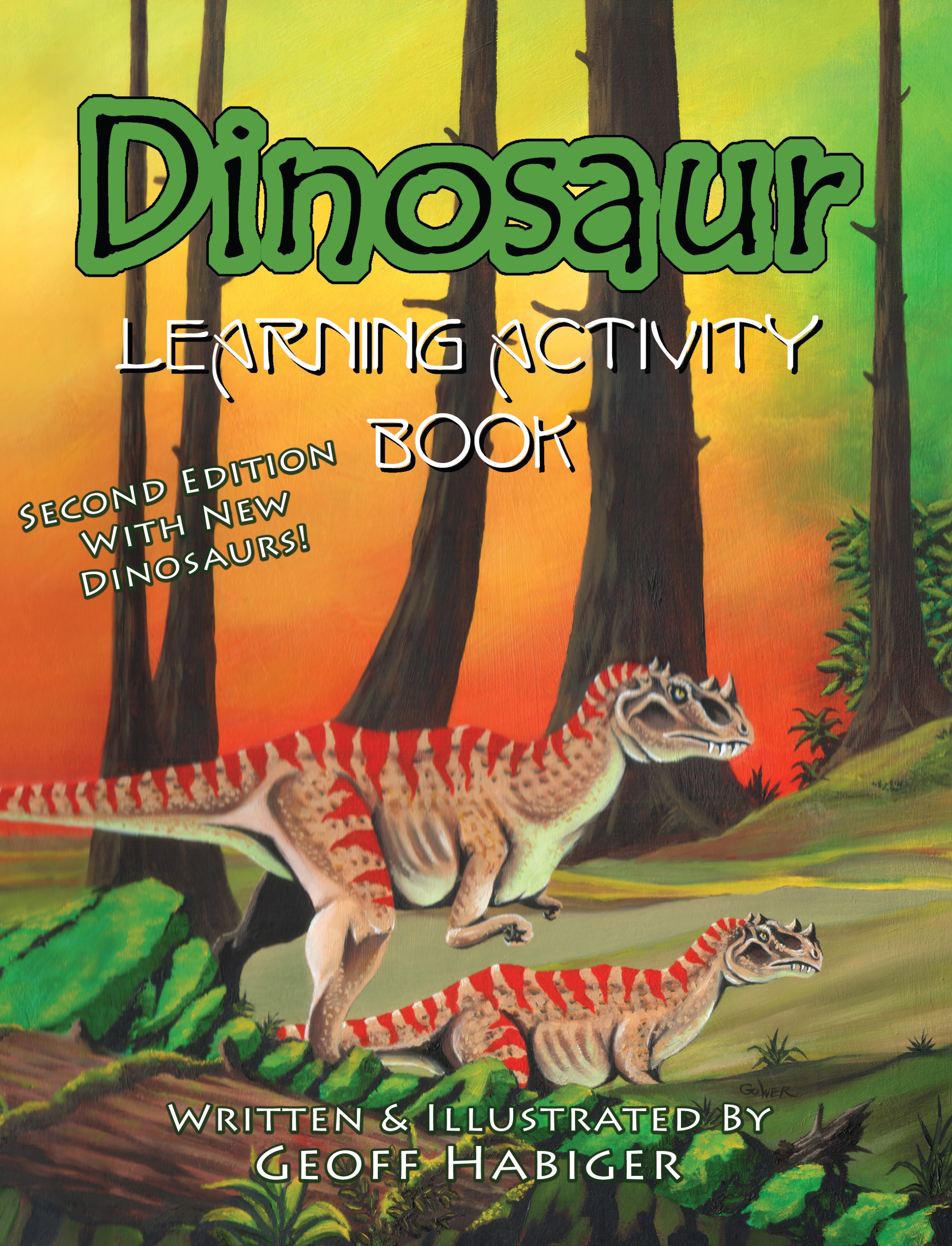 Dinosaur Learning Activity Book, 2nd Ed.